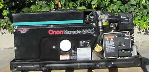Onan Marquis 5000 Gas Powered Rv Generator 5 Kw 120v Output