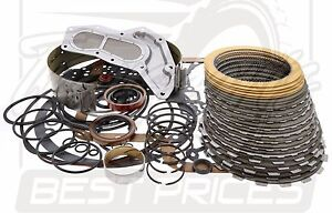 Fits Ford C6 C 6 Transmission 4wd Deluxe Overhaul Rebuild Kit 1967 96