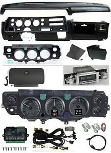 70 72 Chevelle Ss Dash Conversion Kit Dakota Digital Hdx 70c cvl s Radio Dashpad