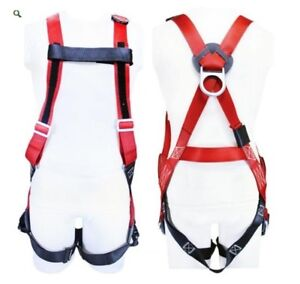 Full Body Harness h Style Fall Protection Safety Buckingham x large 6393600