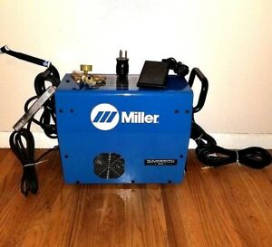 Miller Diversion 180 120v 220v Ac dc Tig Welder Complete Used