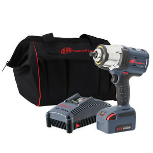 Ingersoll Rand Iqv 20v 1 2 High Torque 1500ft Lb Impact Wrench Kit Ir W7152 K12