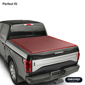 Oedro Roll Up Truck Bed Tonneau Cover For 2009 2018 Dodge Ram 1500 Fleetside