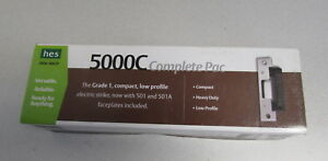 Hes 5000c 12 24d 630 Electric Strike W Faceplate Complete Pac Nib Free Ship