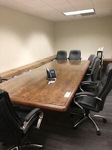 Conference Table Used 5 X 12