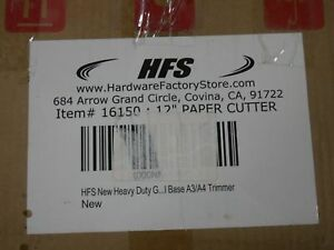 Hfs 17 Guillotine Stack Paper Cutter 16167 Trimmer Blade z4
