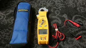 Fieldpiece Sc620 Swivel Head Ac dc400 Amp Clamp Meter With Leads