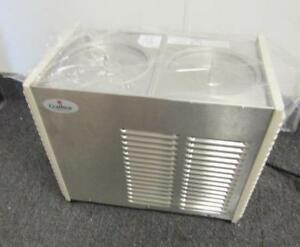 Crathco D25 4 Double Refrigerated Beverage Dispenser no Bowls