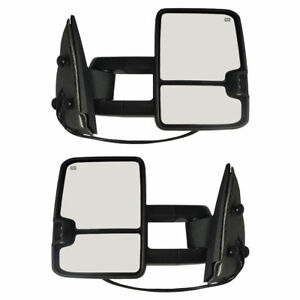 New Set Of 2 Front Left And Right Side Towing Mirror For Gmc Yukon 2007 2014