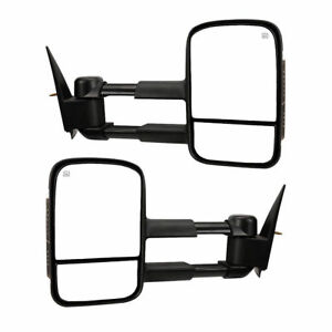New Front Left And Right Side Towing Mirror Set For Gmc Yukon 2007 2014