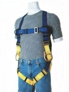 Gemtor 922h 2 Fall Protection Fire Rescue Universal Safety Harness W Hip D s