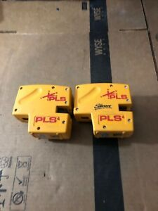 Pacific Laser System Pls 4 Lot Of 2 untested Missing Cover