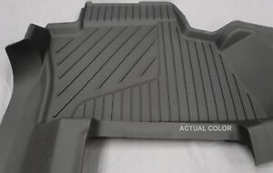 2015 2019 Chevrolet Tahoe Oem Black Floor Mats Third Row Only New
