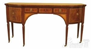 30425ec Baker Stately Homes Collection Inlaid Mahogany Sideboard