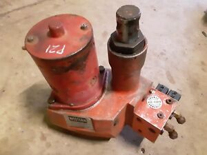 Western Unimount Snow Plow Pump Core Uni Mount Soleniod Good Rebuildable Parts