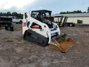 2012 Bobcat T190 Skid Steer On Tracks Kubota Diesel A c And Heat Serviced