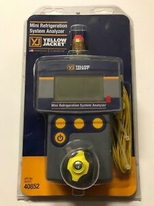 Yellow Jacket 40852 Mini Refrigeration Analyzer
