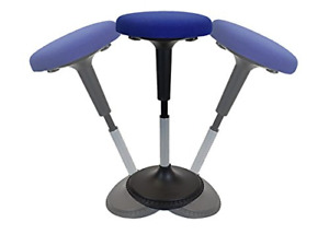 Wobble Stool Adjustable Height Active Sitting Balance Perching Chair For Office