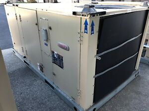 Lennox 3 Ton Heat Pump 208 230v 3ph Economizer Package Unit Ac Heat Khb036s4bn1y