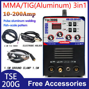 Tig mma Welder Digital Display Stick Arc Acdc Inverter Welding Aluminum Welder