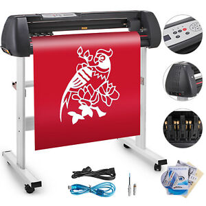 53 Vinyl Cutter Sign Plotter Cutting W signmaster Cut Basic Software 3 Blades