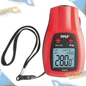 New Pyle Mini Ir Thermometer With Laser Pointer