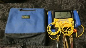 Fieldpiece Sman3 Digital Manifold With 2 Clamps And 3 Hoses