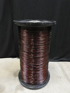 Hfa 11 Awg Magnet Transformer Wire Enamel Coated Aluminum Large Spool