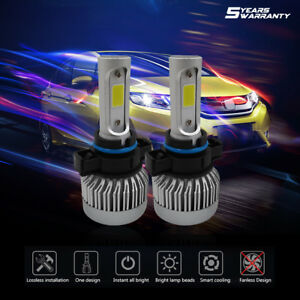 Pair 5202 6000k 1660w 249000lm Led Fog Lights Chevrolet Silverado 1500 2008 2016