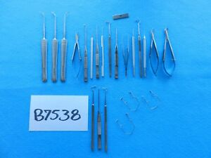 Ssi Katena Storz Surgical Ophthalmic Instruments Lot Of 22