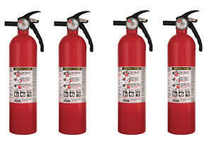 4 Pack 1 a 10 b c Recreational Fire Extinguisher Disposable Non Rechargeable