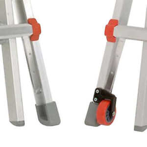 Little Giant Tip Glide Wheel Kit Aluminum Ladder Mover Transporter New
