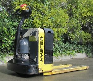 Hyster 4000 Lbs Electric Pallet Jack 24v Battery With Charger