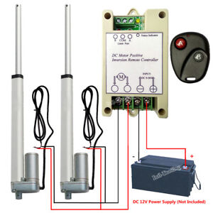 2 Linear Actuators 10 Motor positive Inversion Controller For Electric Sofa Bed