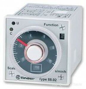 Analogue Timer Plug In 88 Series Multifunction 16 Ranges 0 05 S 100 H 2 C