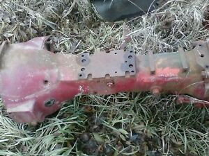 Farmall Super A Tractor Good Ih Ihc Transmission Torque Tube Housing 100 130 140