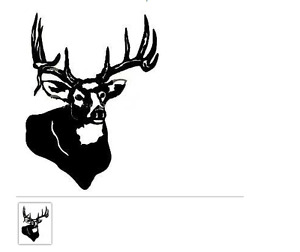 Drop Tines Camo Decal Buck Auto Sticker Camo Various Sizes Mossy Oak