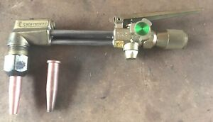 Craftsman Cutting Torch With 2 Tips Oxy Acetylene Welding 313 54407 Made In Usa