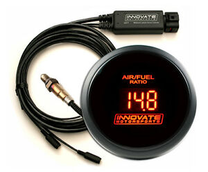 Innovate Lc2 Wideband O2 Db 52mm Kit Red Gauge Display Lc 2 Tuner Combo