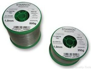 Solder Wire Ks115 0 3mm Diameter 217 c 250g