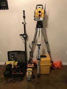 Trimble 5605 Dr200 Robotic Total Station 5600 Tcs2 Complete Set With Extras