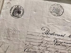 1878 Old Original Marriage Contract