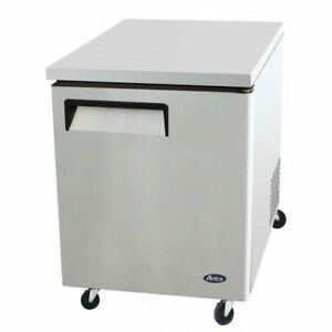 Atosa Usa Mgf8401 27 Undercounter Refrigerator Commercial Restaurant Equipment