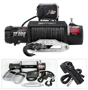 New Smittybilt Xrc Gen 2 12000 Lb Waterproof Ip67 Winch With Synthetic Rope