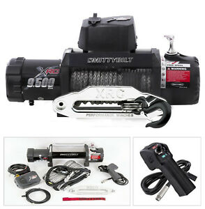 New Smittybilt Xrc Gen 2 9500 Lb Waterproof Ip67 Winch With Synthetic Rope
