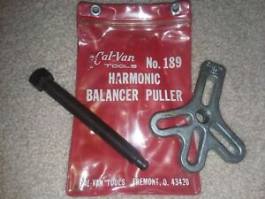 Cal Van Tools 189 Harmonic Balancer Puller Screw Made In Usa