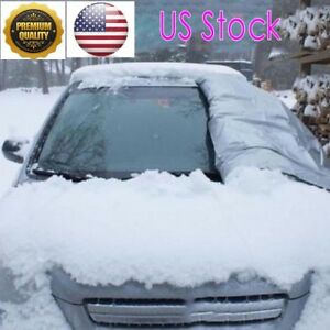 Freedom Full Protection Windshield Cover Car Sunshade Anti Snow Winter Us Top D