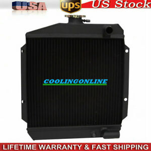 119621 44500 3row Tractor Radiator For Yanmar 3 Cylinder Diesel Engine 3tne74