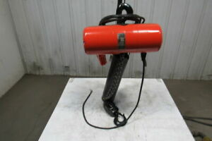 Cm Lodestar Rr 2 Ton 2hp Electric Chain Hoist 208 230 460v 3ph 20 Lift 16fpm