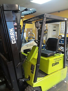 Forklift Clark Electric Tm15s Warranty
